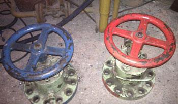 E-Werk, Blau & Rot